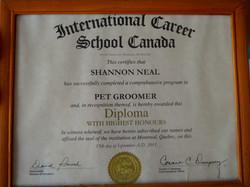 Certified Pet Groomer