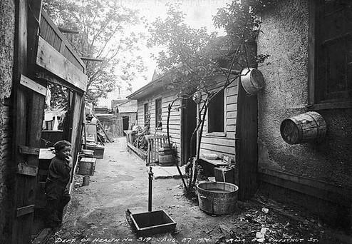 Rear 210 Chestnut Street, Arthur Goss, 1914, Fonds 200, Series 372, Subseries 32, Item 319, City of Toronto Archives