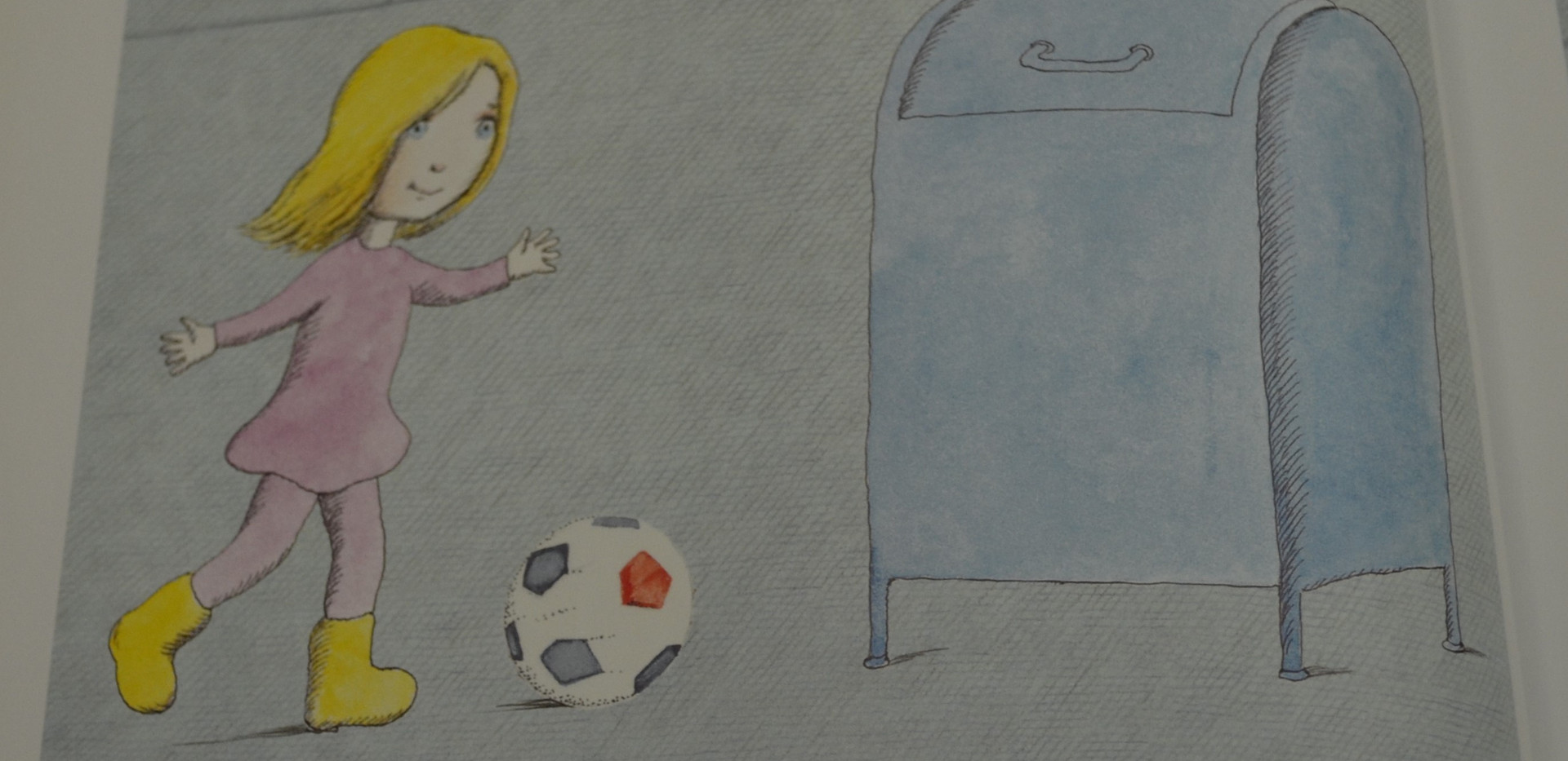 Page 7.jpgSis, Peter. Madlenka, Soccer Star. Farrar, Straus and Giroux, 2010. p.7. Osborne Collection of Early Children's Books.