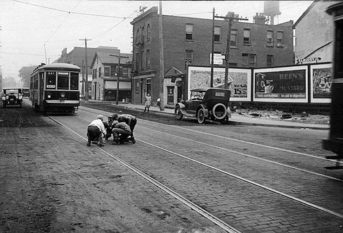 Ontario Safety League, Arthur Goss, 1923, Fonds 16, Series 71, Item 2422, Central Photography Series of the Toronto Transit Commission, City of Toronto Archives