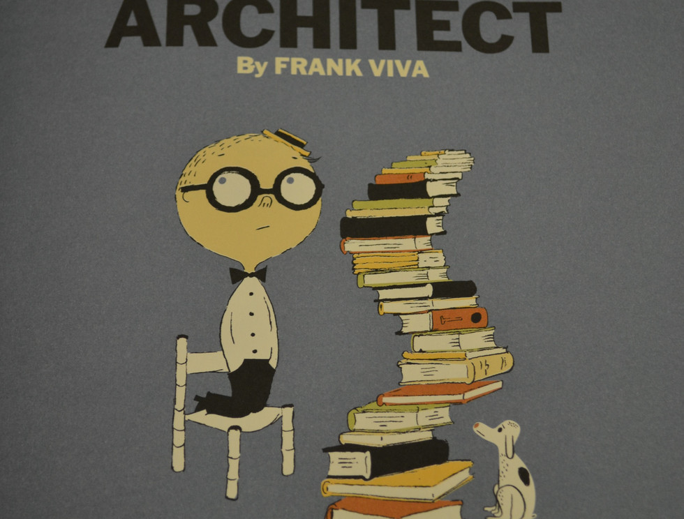 Copyright:Viva, Frank. Young Frank, Architect. Harry N. Abrams, 2013. Osborne Collection of Early Children's Books. Public Domain.