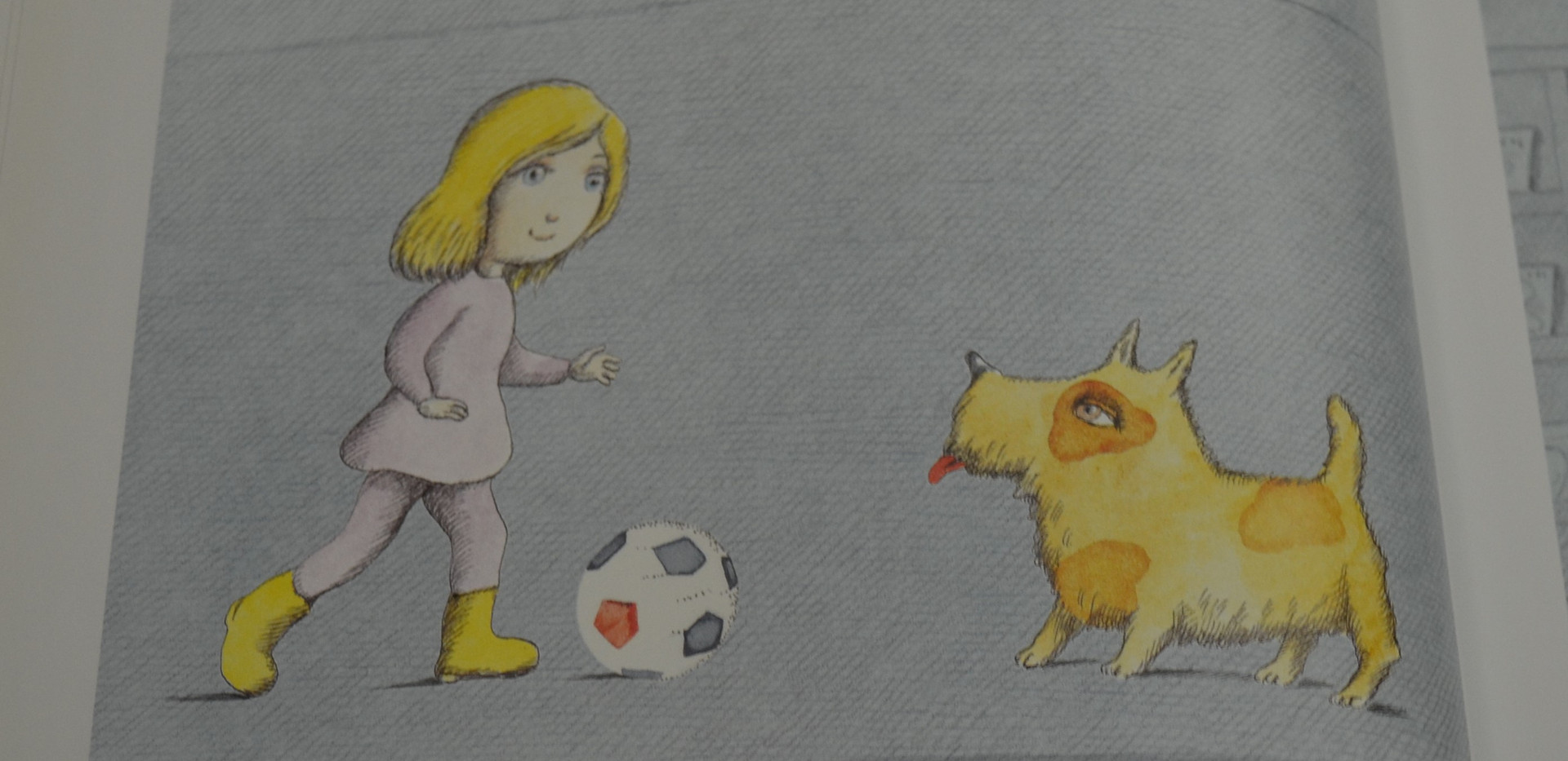 Page 9.jpgSis, Peter. Madlenka, Soccer Star. Farrar, Straus and Giroux, 2010. p.9. Osborne Collection of Early Children's Books.