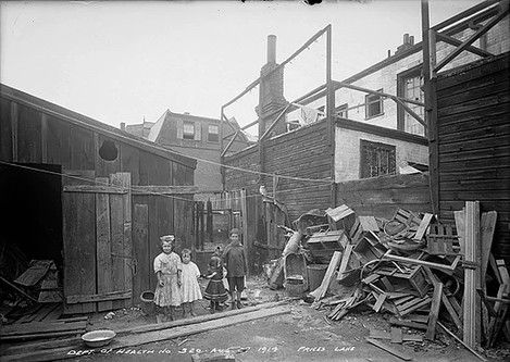Slum- Price's Lane, Arthur Goss, August 27 th 1914, Fonds 200, Series 372, Subseries 32, Item 320, Department of Public Works Photographs, City of Toronto Archives