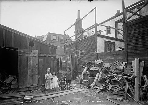 Slum- Price's Lane, Arthur Goss, August 27 th 1914, Fonds 200, Series 372, Subseries 32, Item 320, Department of Public Works Photographs, City of Toronto Archives