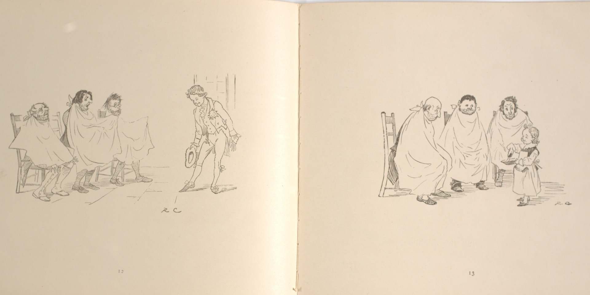 Caldecott, Randolph. The Great Panjandrum Himself. Frederick Warne & Co., 1855. p.9-10. Ryerson University Library and Archives.