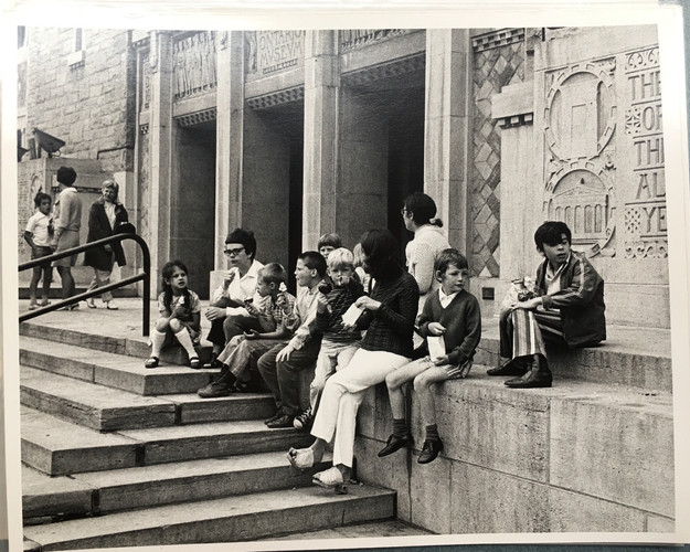 """Royal Ontario Museum."" Toronto, 1962. Fonds 351, File 1, Box 616127, Folio 1. City of Toronto Archives. Public Domain."