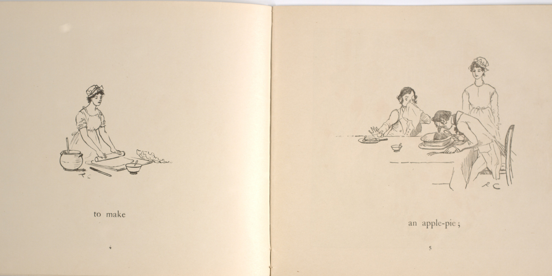 Caldecott, Randolph. The Great Panjandrum Himself. Frederick Warne & Co., 1855. p.1-2. Ryerson University Library and Archives.