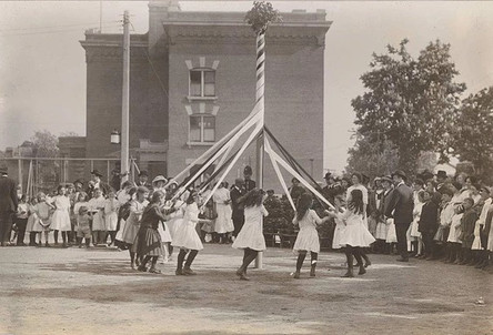 Maypole Dance Spring Festival, Photographer Unknown, 1913, Fonds 1005, Item 7, City of Toronto Archives