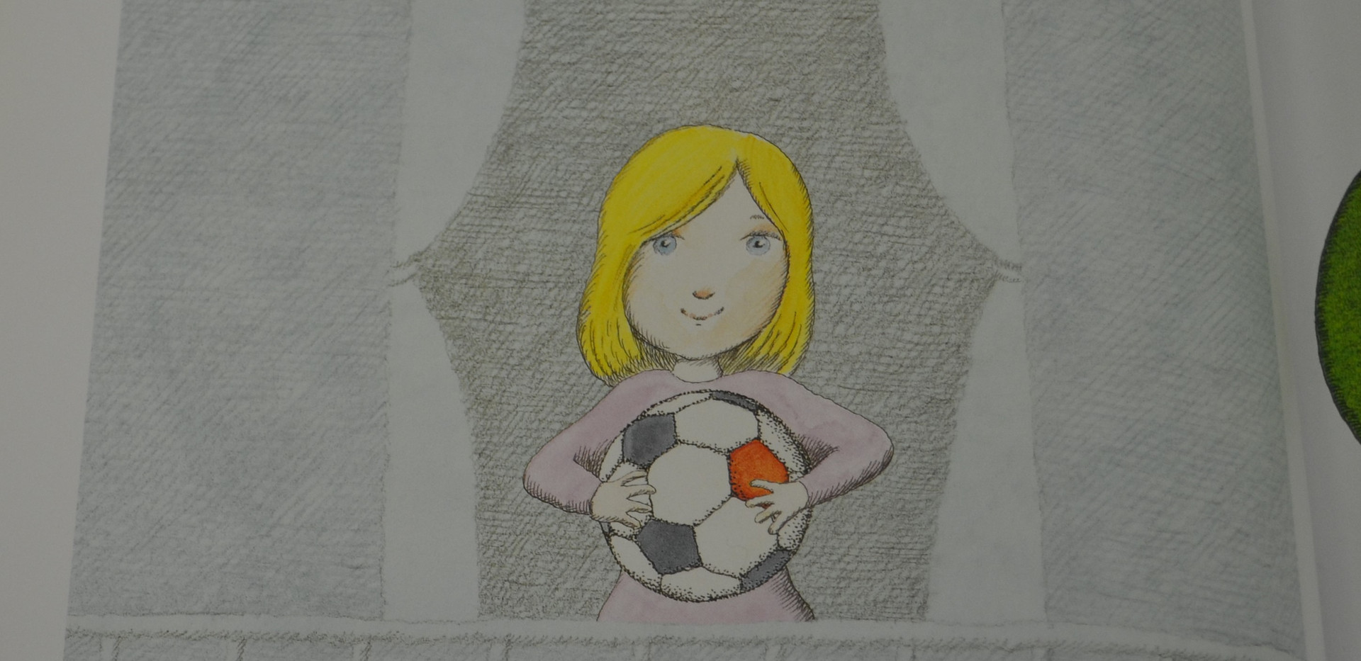 Sis, Peter. Madlenka, Soccer Star. Farrar, Straus and Giroux, 2010. p.1 Osborne Collection of Early Children's Books.