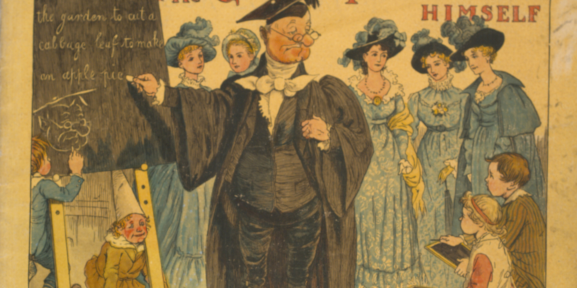Caldecott, Randolph. The Great Panjandrum Himself. Frederick Warne & Co., 1855. Ryerson University Library and Archives.