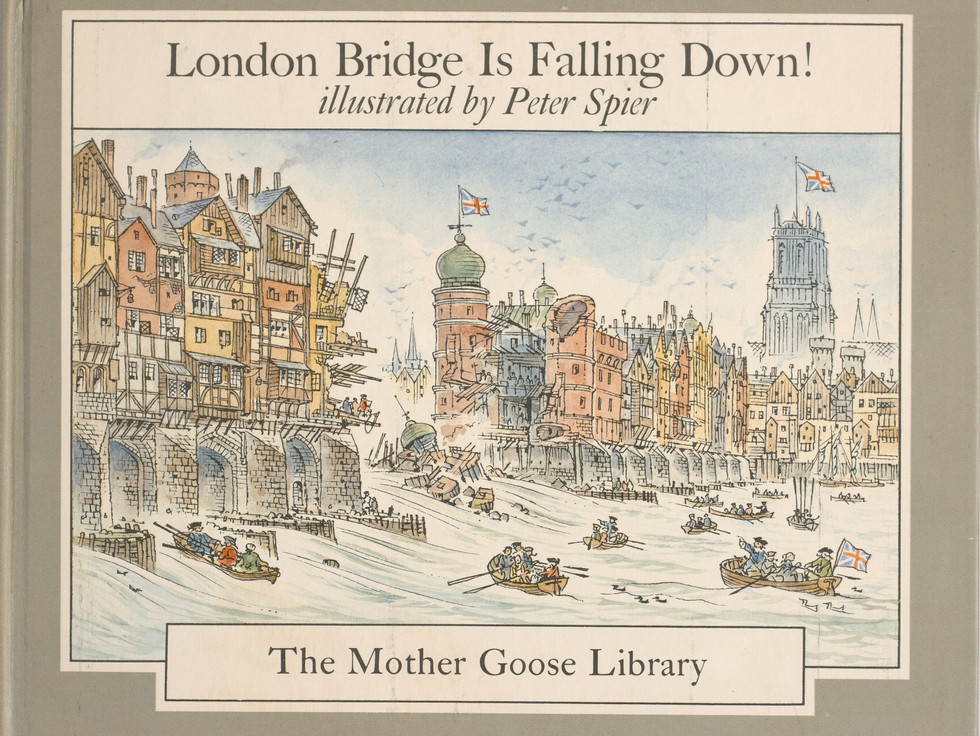 Spier, Peter. London Bridge Is Falling Down. Doubleday Books for Young Readers, 1985. Ryerson University Library and Archives.