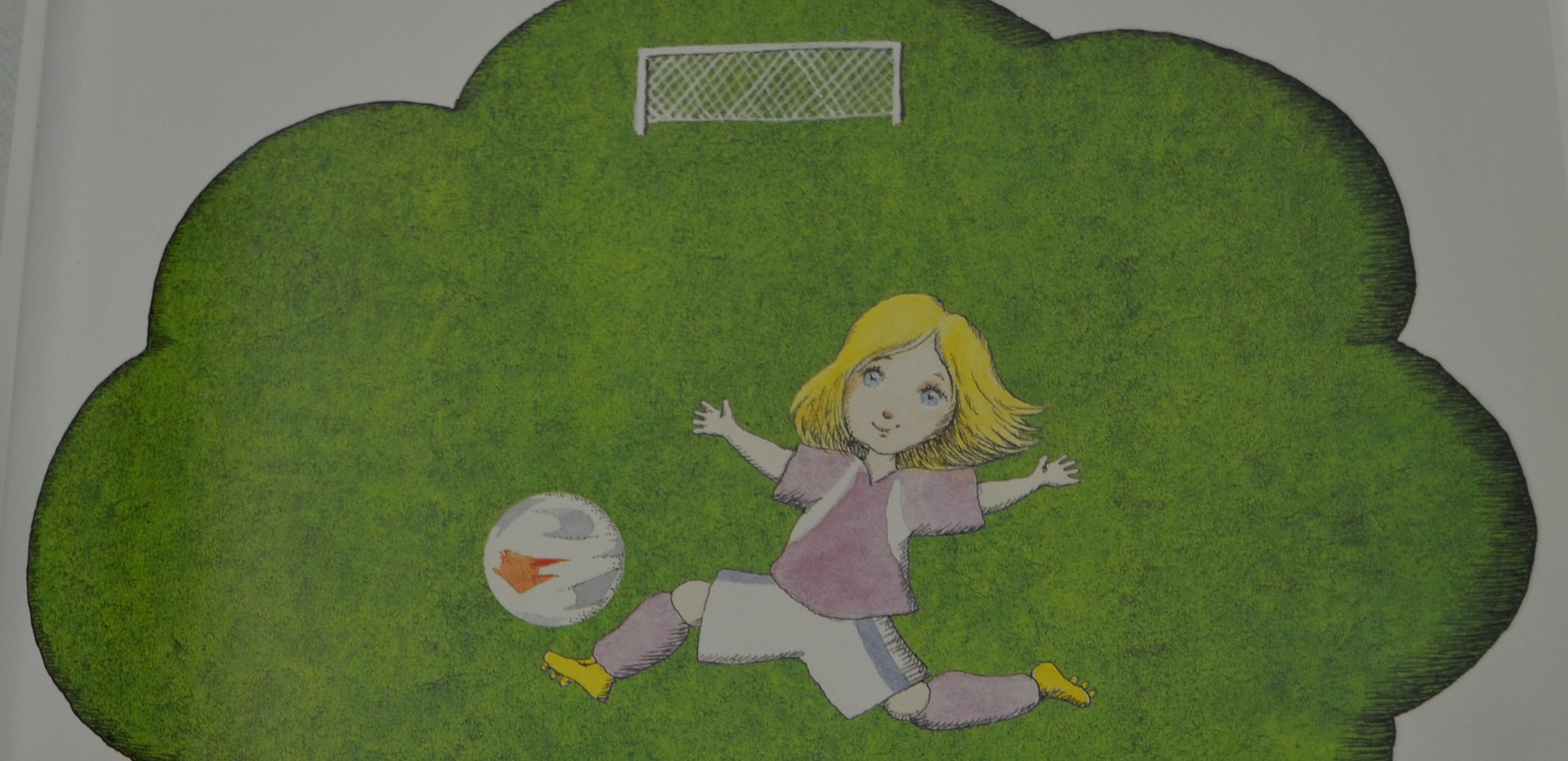 Sis, Peter. Madlenka, Soccer Star. Farrar, Straus and Giroux, 2010. p.2. Osborne Collection of Early Children's Books.
