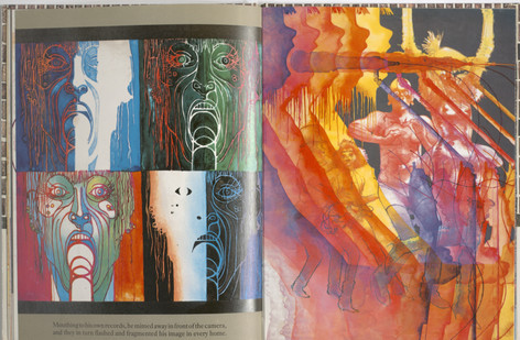Keeping, Charles. Sammy Streetsinger. Oxford University Press, 1984. p.19-20. Ryerson University Library and Archives.