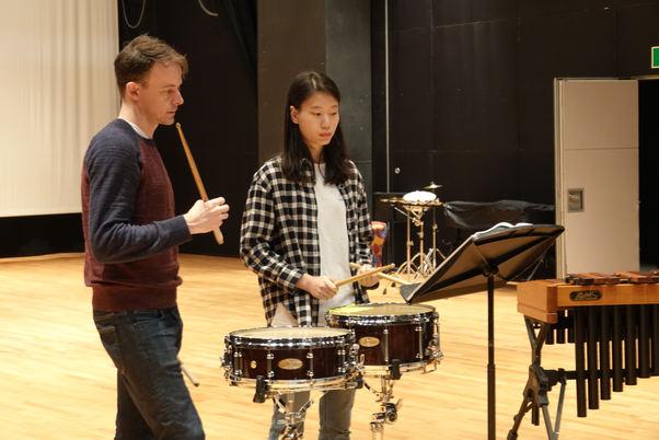 Instrumental Lesson: Percussion