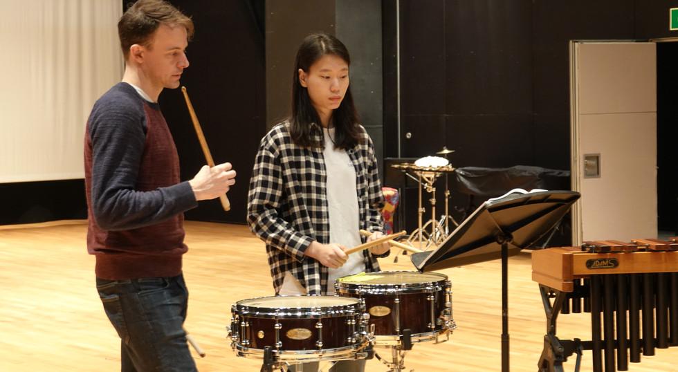 樂器課程:敲擊樂
