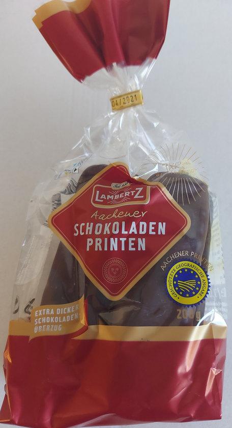 Chocolade Printen