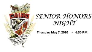 Cairo High School broadcasts Senior Honors Night