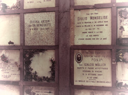 Jewish section Cimitero Monumentale
