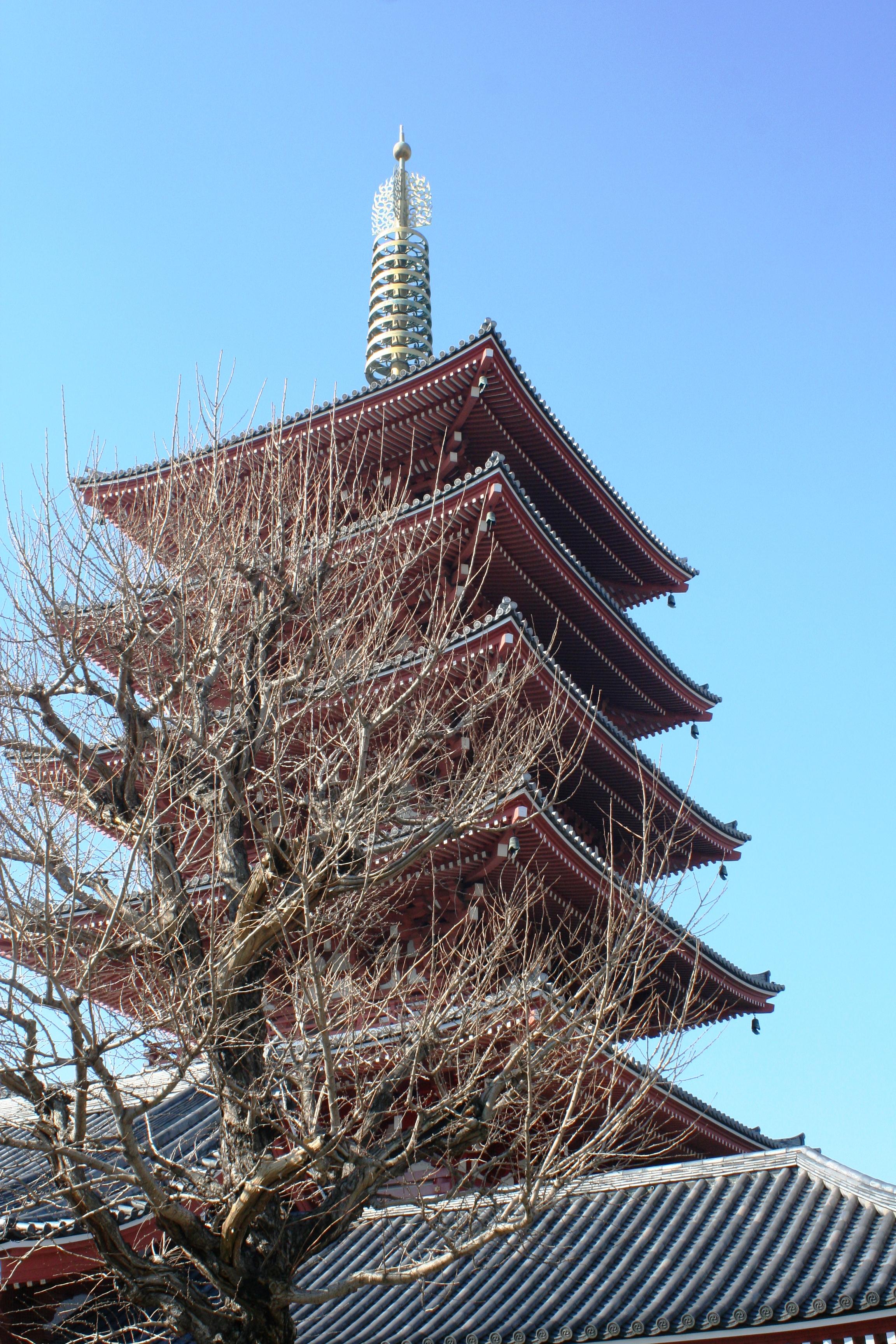 Japan Asaksa temple