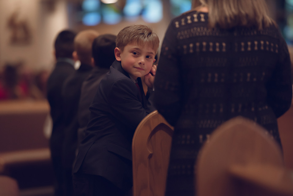Zack, First Holy Communion