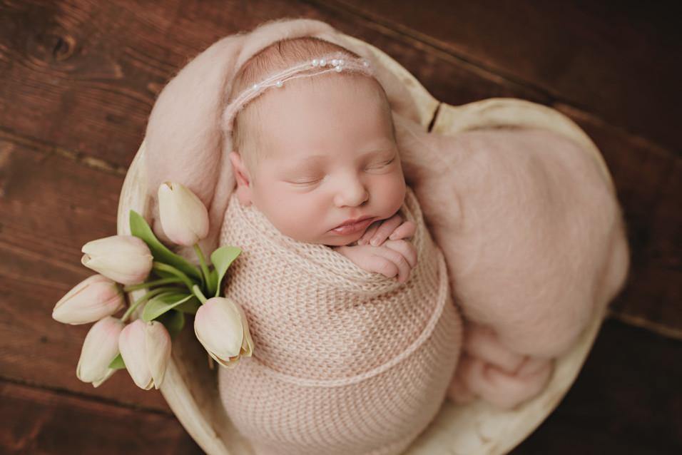 Baby E, Berks County Newborn Photographer