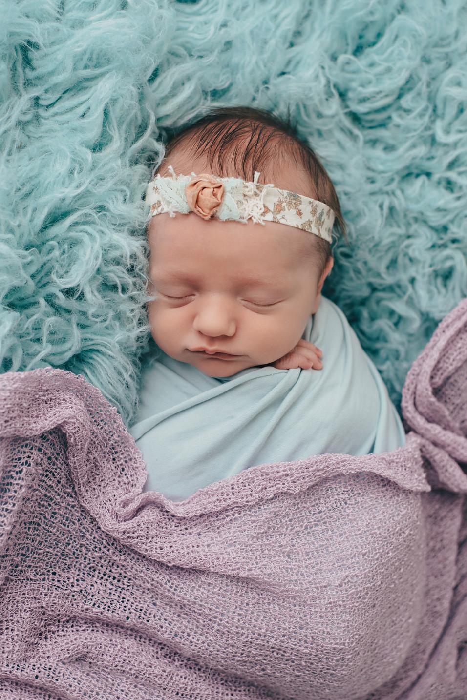 Avery, Newborn