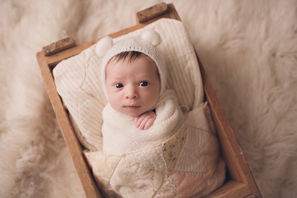 Maeve, Newborn