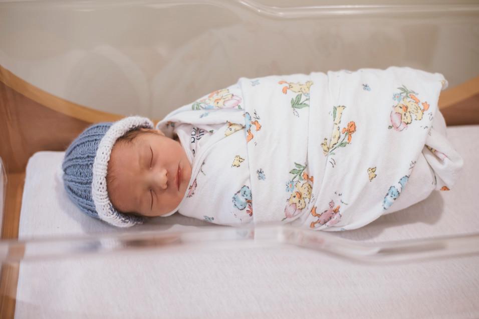 Connor, Hello Baby