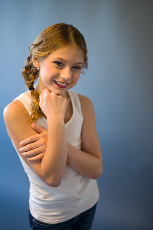 Teen Girl Modeling