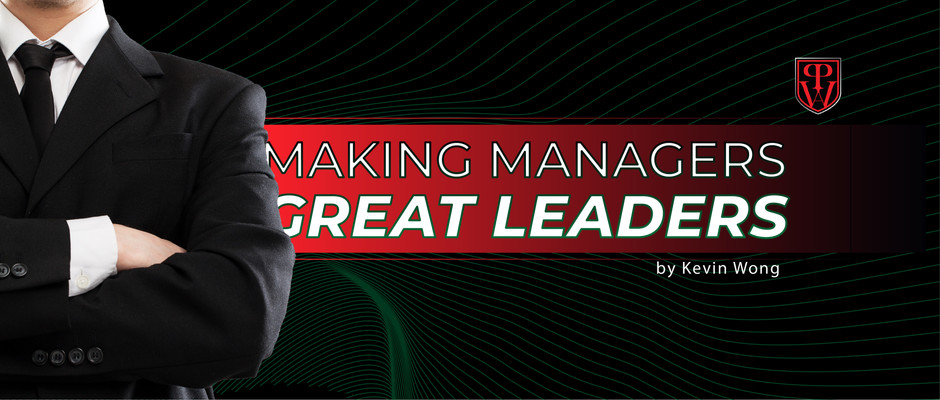 Making Managers Great Leaders