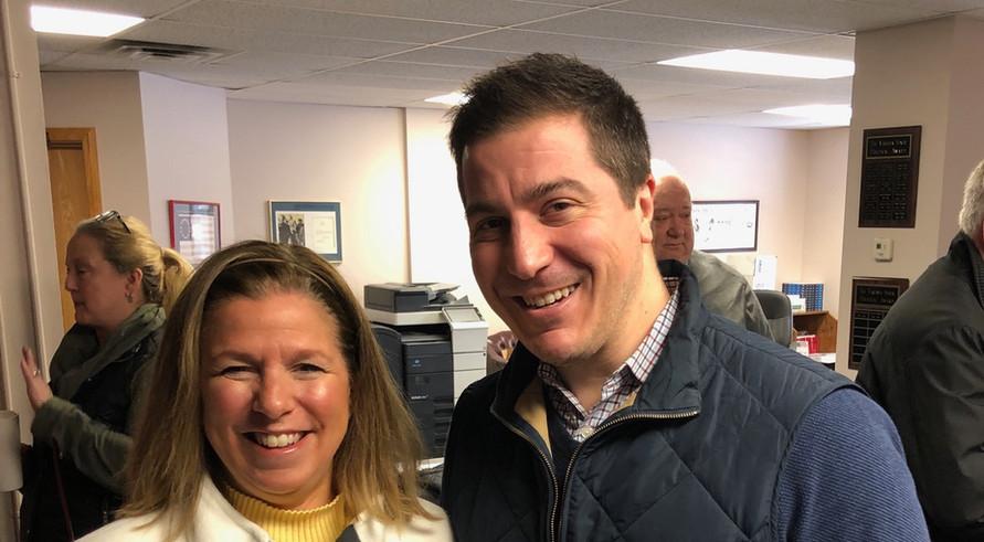 With Jonathan Bollas, Tallmadge City Council, Ward 3