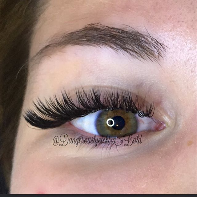 Volume lashes mixed lenghts