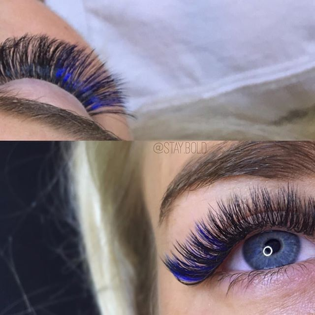 Blue to enhance those eyes!