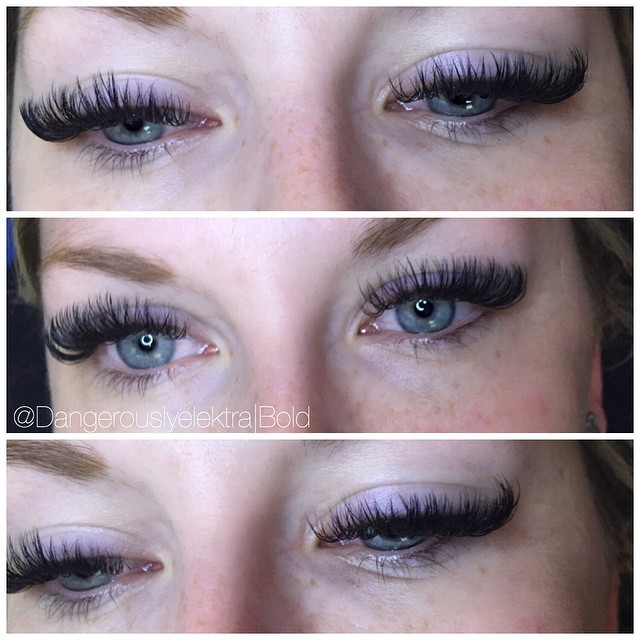 Bold volume lashes