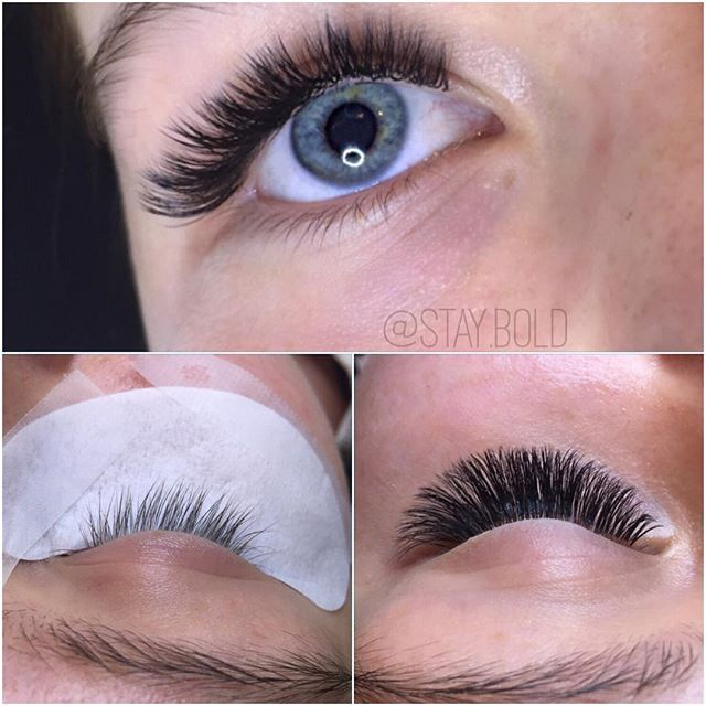 Semi-dramatic lashes