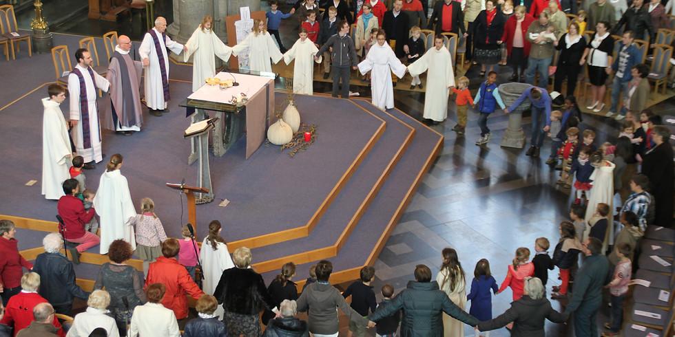 Messe de fin d'année pour le caté 1-2-3