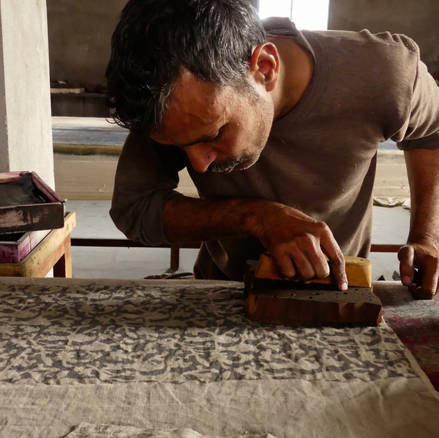 Mukesh, sampling and colour matching master.