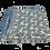 Thumbnail: Dahlia & Beetles Indigo quilt