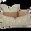 Thumbnail: 35/80cm Birds in Blossom linen lumbar cushion