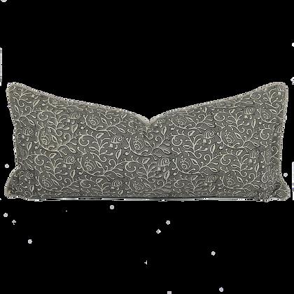 35/80cm Snails in Leaves linen lumbar cushion