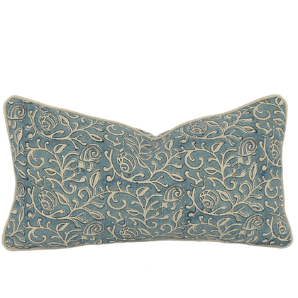 25/45cm Snails in Leaves linen accent pillow
