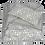 Thumbnail: 25/45cm Birds in Blossom Khadi accent pillow