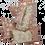 Thumbnail: Dahlia & Beetles dusky pink quilt