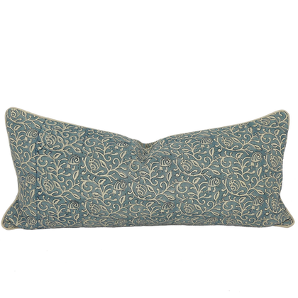 35/80cm Snails in Leaves linen lumbar cushion