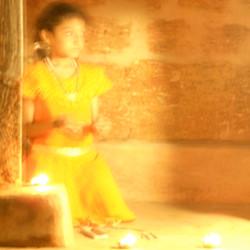 Golden girl. India