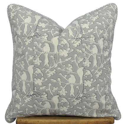 40cm Birds in Blossom cushion cover