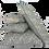 Thumbnail: 25/45cm Linen accent pillow