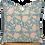 Thumbnail: 40cm Dahlia & Beetles Khadi cushion cover