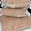 Thumbnail: 40cm Snails in Leaves linen cushion cover