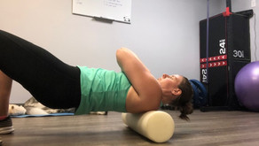 Upper Body Foam Rolling
